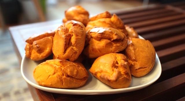 idée apéritif - Mini madeleines salées aux poivrons