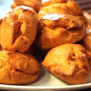 servir - Mini madeleines salées aux poivrons