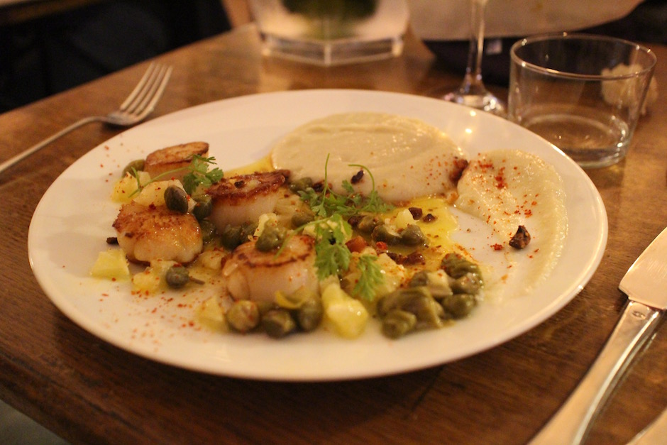 saint jacques - Restaurant Friends & Family - le resto de 50 potes