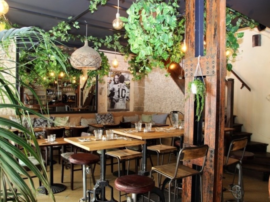 salle tropicale - Restaurant Boteco - le Brésil ultra tendance@