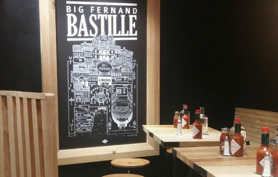 Big Fernand prend la Bastille d'assaut - 1er etage