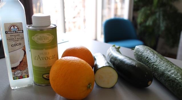 ingrédients Salade Fresh Minimaliste