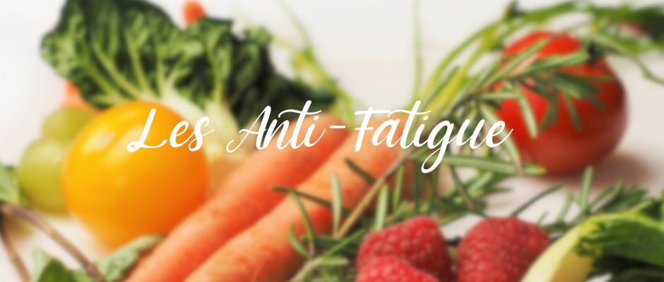légumes Anti Fatigue