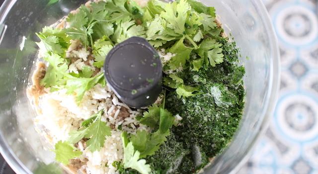 ajouter riz feuilles