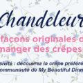 miniature chandeleur