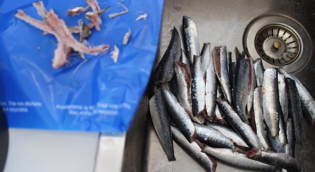 nettoyer sardines